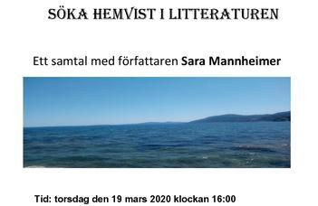 Ett samtal med författaren Sara Mannheimer